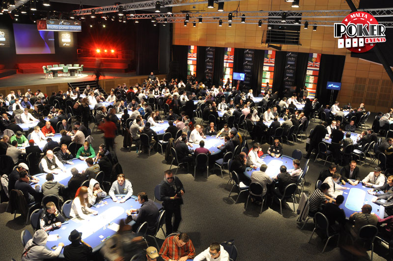 Malta Poker Dream Day 1B