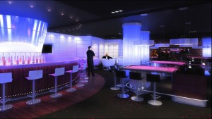 The New Poker room at the Portomaso Casino