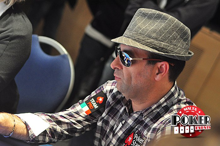 Slavatore Bonavena at the Malta Poker Dream