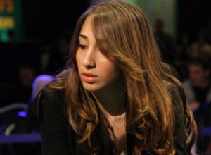 Christine Sammut at the Irish Poker Open 2011